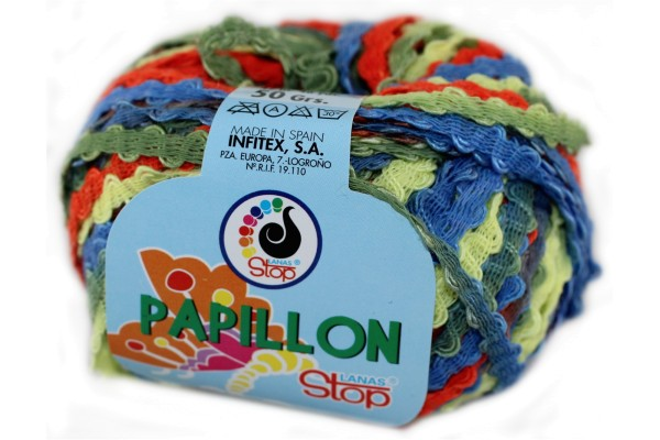 Lanas Stop, Papillon