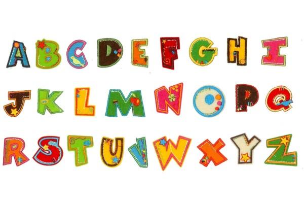 Pronty, Buchstaben, bügelbar