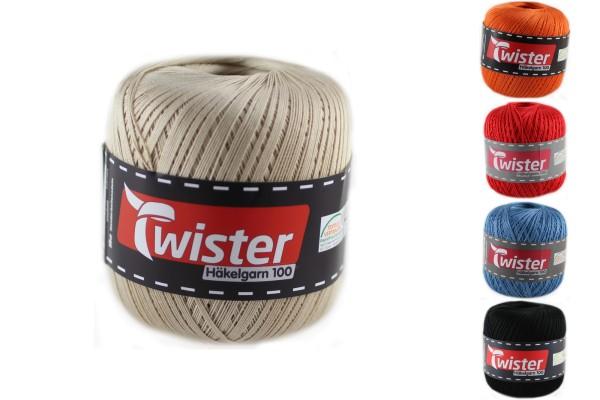 Twister, Häkelgarn 100