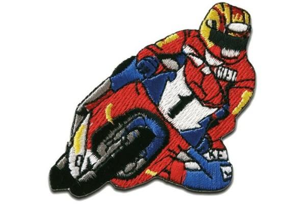 kuwotex, Patch Motorradfahrer