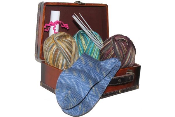 Wollpaket, Sockenwolle, Winter-Standard