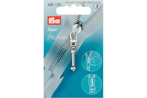 Prym, Zipper in Keulenform