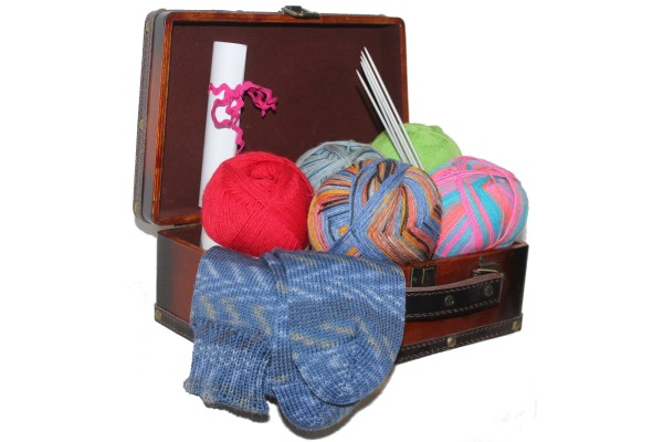 Wollpaket, Sockenwolle, Maxi