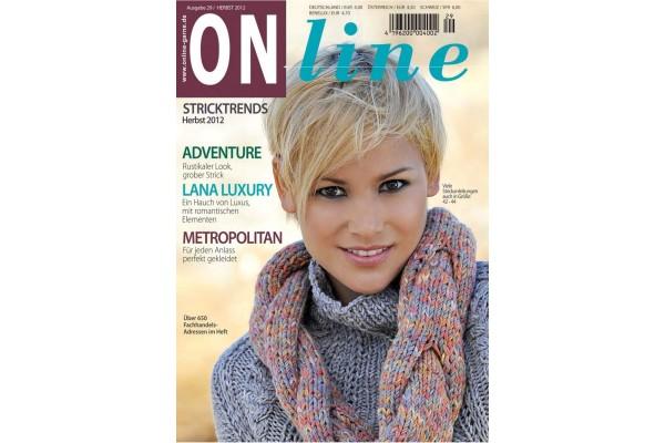 ONline Garne, Stricktrends, Herbst, Ausgabe 29