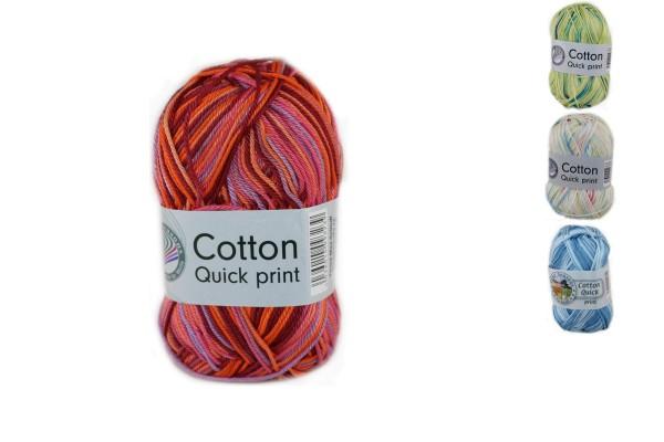 Gründl-Wolle, Cotton Quick print