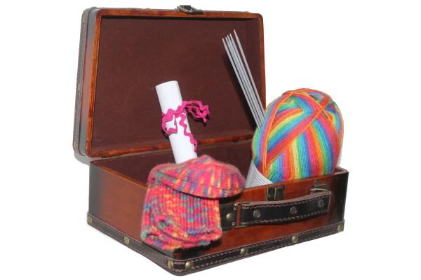 Wollpaket, Sockenwolle, Einsteiger