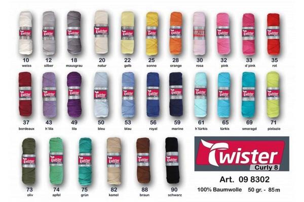 Twister, Curly 8 uni