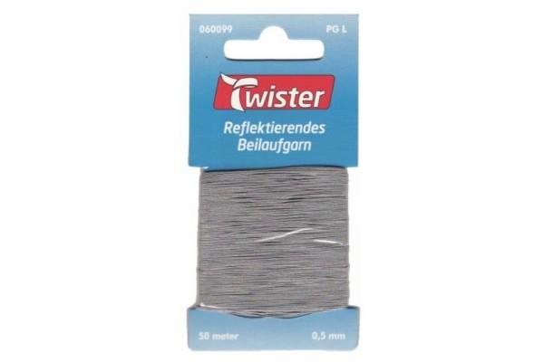 Twister, reflektierendes Beilaufgarn